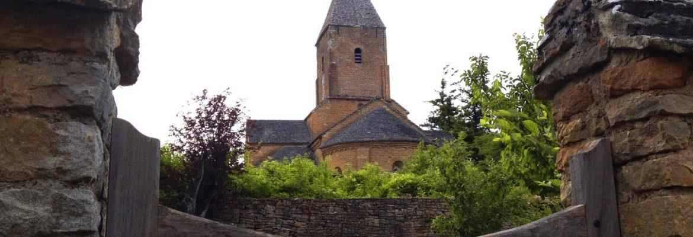 Church of Brancion in Burgundy, France