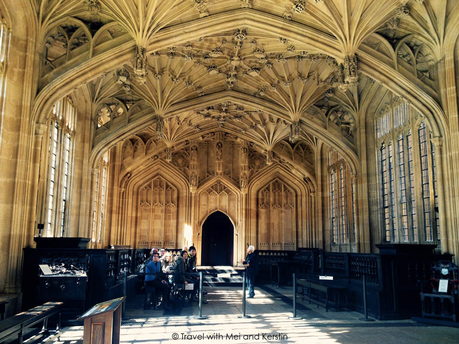 Divinity School, Bodleian Library, Oxford © Travelwithmk.com