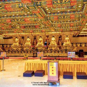 Ten Thousand Buddhas in Po Lin Monastery, Lantau Island, Hong Kong © TravelwithMK.com