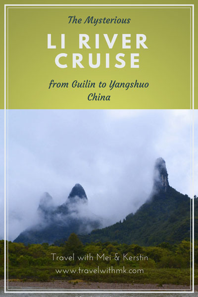 The Mysterious Li River Cruise from Guilin to Yangshuo , China © Travelwithmk.com