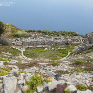 Hellenistic-Roman Theatre in Ancient Thera, Santorini © Travelwithmk.com