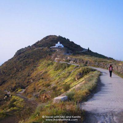 Walking from Fira to Oia, Santorini © Travelwithmk.com