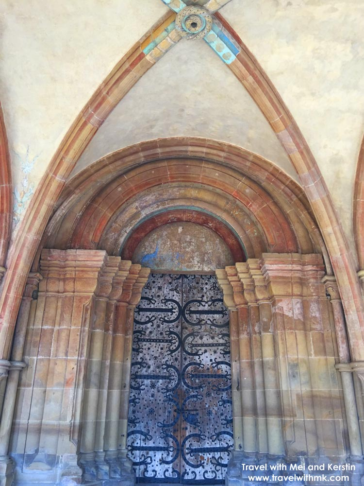 Portal in the Paradise in Maulbronn Monastery, Germany © Travelwithmk.com