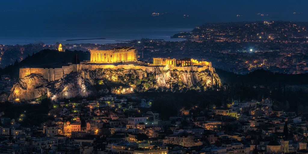 Acropolis of Athens. Photo by Nico Trinkhaus via Sumfinity.com
