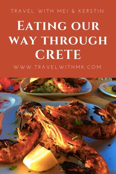 Eating our way through Crete © Travelwithmk.com