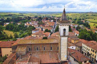 Tracking Leonardo da Vinci: from Vinci to Anchiano in Tuscany