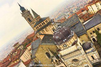 In Bergamo, when it drizzles…