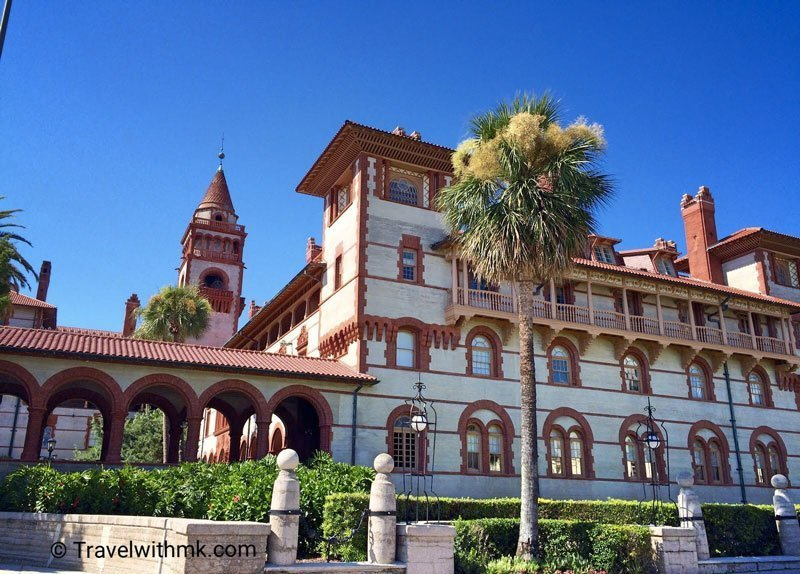 Flagler College in St Augustine, Florida © Travelwithmk.com