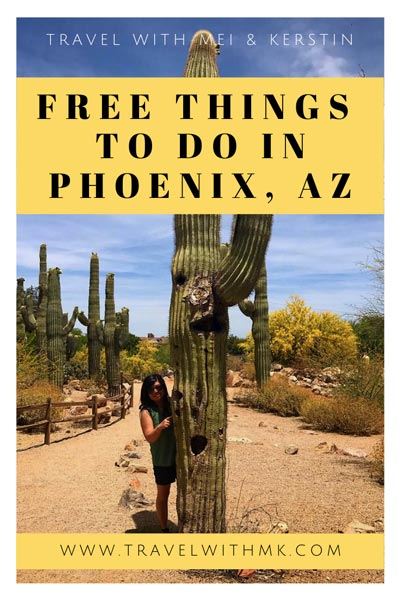 Free Things to do in Phoenix, Arizona © Travelwithmk.com