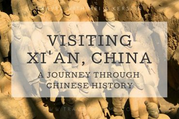 Visiting Xi'an, China - A journey through Chinese History © Travelwithmk.com