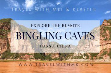 Explore the remote Bingling Caves in Gansu, China © Travelwithmk.com