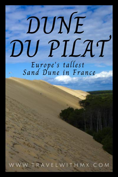Freedom at the Dune du Pilat: Europe's tallest sand dune in Southwestern France © Travelwithmk.com