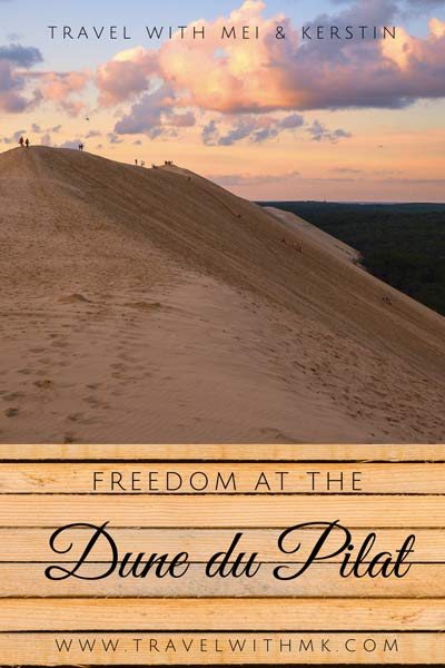 Freedom at the Dune du Pilat, France © Travelwithmk.com