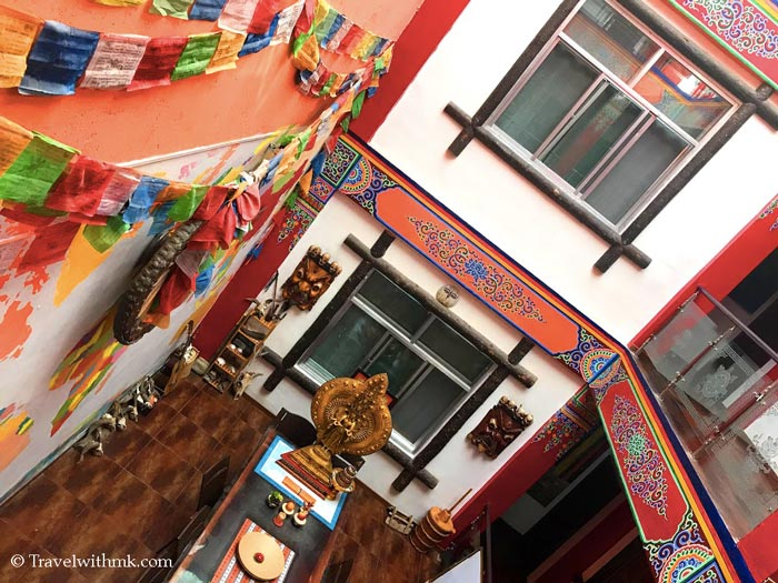 Nirvana Hotel in Xiahe, Gansu, China © Travelwithmk.com