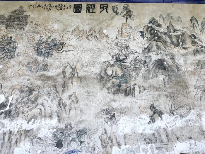 Mural in Dafo Temple, Zhangye © Travelwithmk.com
